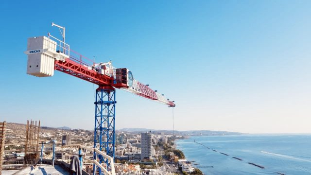 Three Raimondi MRT111s helping to deliver iconic Cypriot beachfront complex